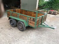 8FTX4FT6INS TWIN AXLE TRAILER