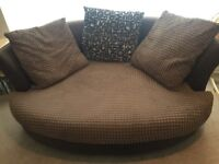 Large Snuggle Sofa, Clean and No Marks. OFFERS!