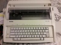 Brother Typewriter Ax100 excellent condition