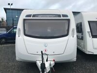 One Owner! **Free Air Awning** 2016 Swift Sprite Freedom 6TD - 6 Berth Tricam Caravans DromoreBT25