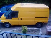 Ford transit t280 breaking