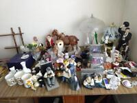 Collection of ornaments - house clearance
