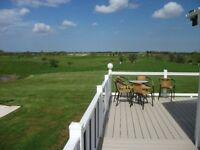 Clearwater lodge with hot tub/UNREAL VIEWS/golf course/LOW GROUND RENT/pet friendly/entertainment