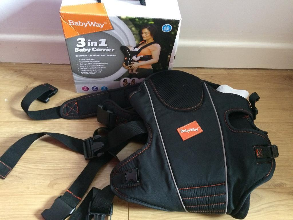 51659a32cdb Babyway 3 in 1 Baby Carrier