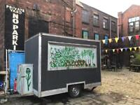 Individually designed 10x6ft catering trailer for sale