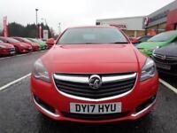 Vauxhall Insignia SRI NAV CDTI S/S (red) 2017-03-31