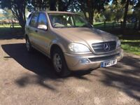 Mercedes Ml320 2002 Petrol 4X4 ***Automatic*7 Seater*Sat Nav*Fully Loaded***