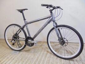 "Carrera Subway LTD Edition Gents Unisex Hybrid Road Trail Bike 18"" Md Alloy Discs Used Fully Working"