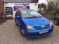 2001 NISSAN ALMERA TINO S 1.8 PETROL IN BLUE *PX WELCOME* 12 MONTHS MOT £495