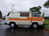 Vw t25 1984 campervan - LHD