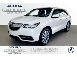 2016 Acura MDX SH-AWD NAVIGATION CUIR+TOIT+NAVI+BLUETOOTH+CAMERA