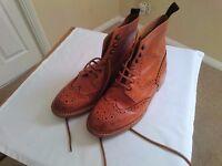 Mens Harrytech Brogue Boots Size 8