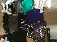 Gym workout lady's size 8 Nike and other
