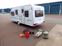 Elddis Firestorm 2004 year,5 berth,cris reg,hpi clear, very clean,dry,tested with all accessories