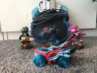 Skylanders super charge characters and game pad
