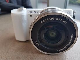 Sony a5100 with kit lens 16-50mm plus Samyang 8mm Fisheye