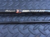 Shakespeare Sigma Sea Fishing Rod - 1465 -210 Sea Spinning Boat Bass Rod