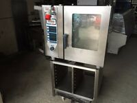 RATIONAL 6 GRID 3 PHASE ELECTRIC STEAM OVEN COMMERCIAL KITCHEN EQUIPMENT RESTAURANT BAKERY PIRIPIRI