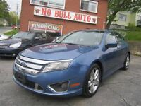 2010 Ford Fusion Sport 3.5L V6, Leather, Navigation, Sunroof