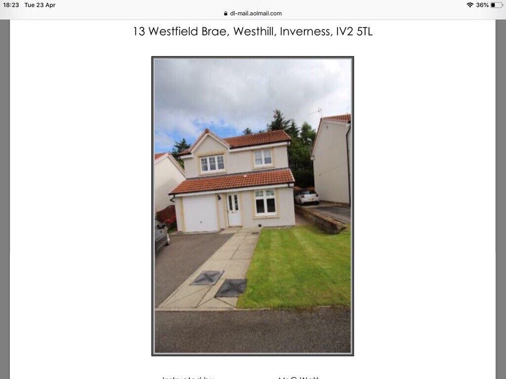Fantastic Detached 3 4 Bedroom House For Rent Unfurnished With Garage And Shed And Decent Garden In Inverness Highland Gumtree Complete Home Design Collection Epsylindsey Bellcom