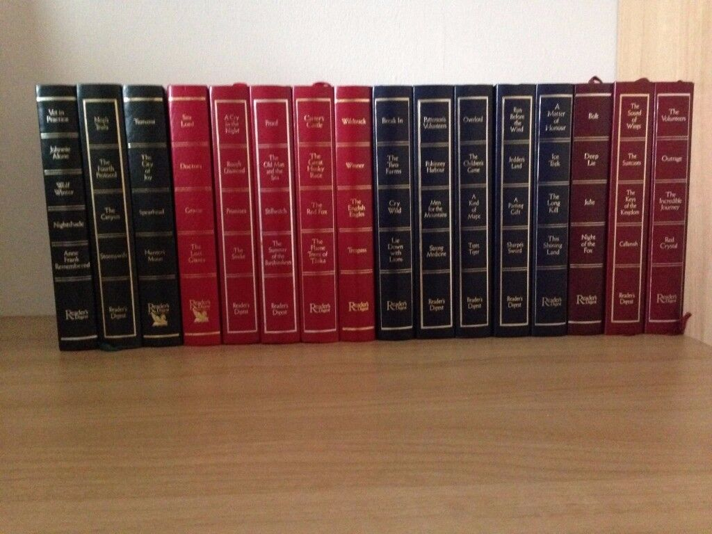 COLLECTION OF READERS DIGEST CONDENSED BOOKS - 16