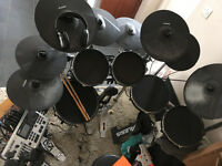 Alesis DM10 modified digital drum kit. Roland & yahaha parts also.