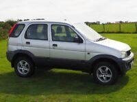 Daihatsu Terios 1.3L manual 4WD petrol 5 door, 86400 miles