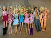 Barbies and a Ken