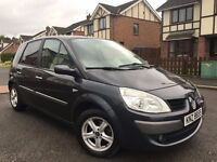 2007 OCT RENAULT SCENIC 1.6 EXPRESSION 56243 MILES PANORAMIC SUNROOF MOTD NOV 16 FSH