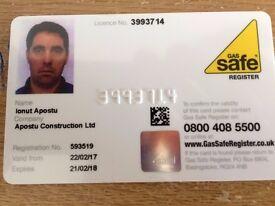 Gas engineer - Vaillant / Baxi Approved installer / Boiler service / Cooker instalation