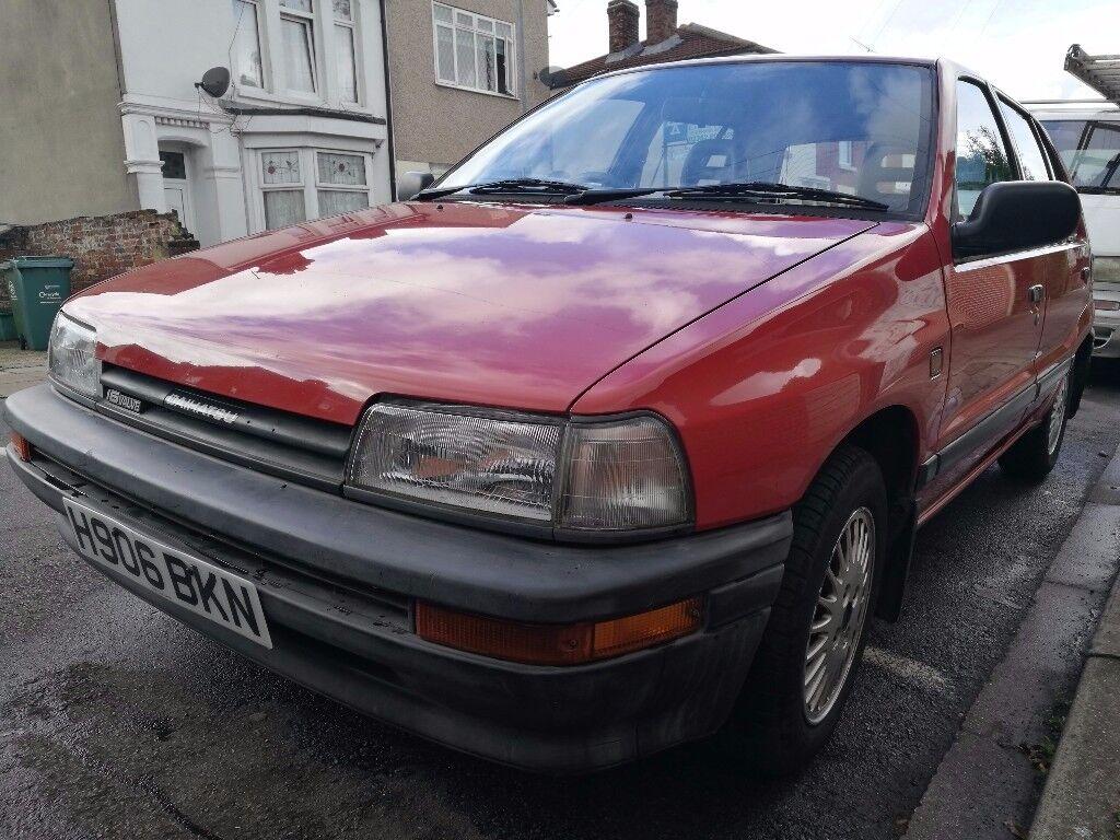 Daihatsu Charade, 1990, full mot, cheap insurance, great first car