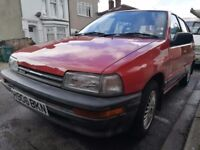 Daihatsu Charade, 1990, full mot, cheap insurance, great first car