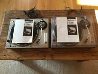 2x Technics 1200s MK2s (Will sell separately)