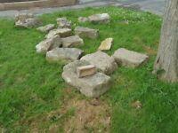 Sussex rockery stone