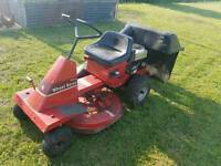ride on mower wheel horse 110-4