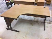 Corner desk, standard desk & 2 Set of Drawers - Free for collection from EC1