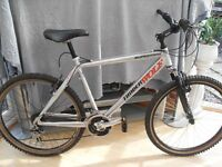 ADULTS NICE QUALITY SUPER TRAK SUSPENSION MOUNTAIN BIKE (IN VGC)