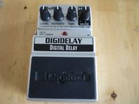 DIGITECH DELAY /ECHO GUITAR EFFECTS PEDAL BOXED - BOSS-IBANEZ-TC ELECTRONIC-MXR