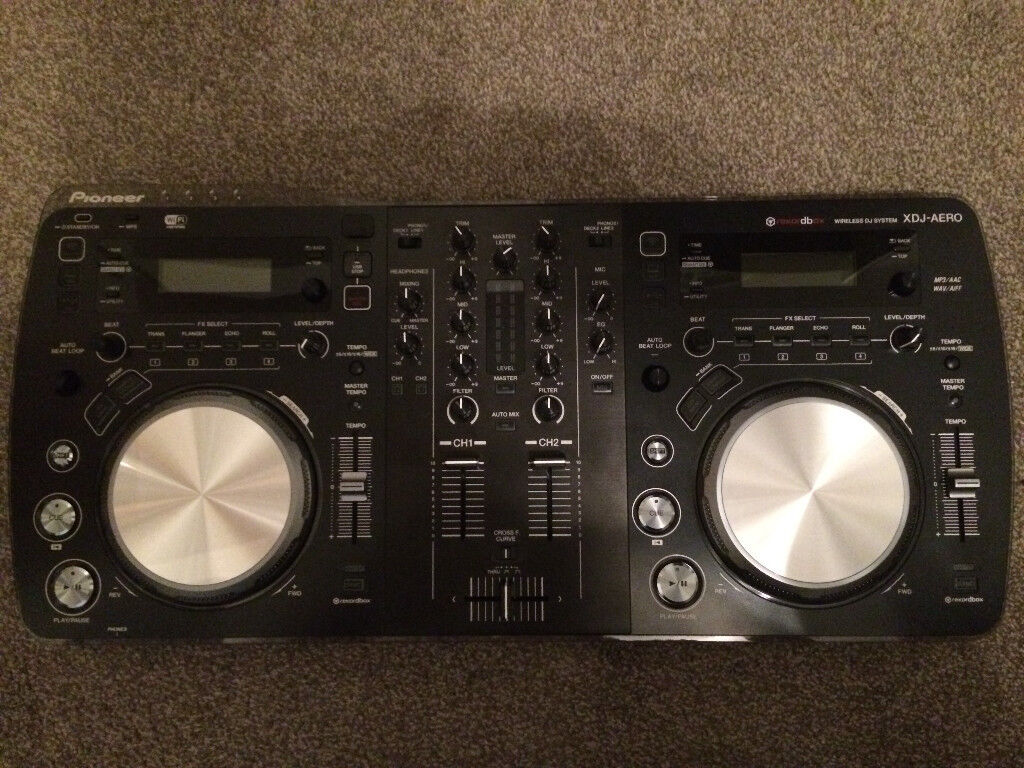 Pioneer XDJ Aero (Standalone unit, no computer required and doubles as controller)