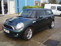 Mini Clubman Cooper S 1.6 Turbo (Chili Pack) 2008 Metallic Green