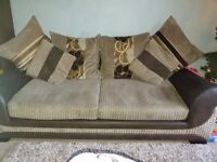 2x large 3 seater sofas in excellent condition from a smoke and pet free home. Viewing wecome.