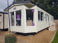 Top of the range Static Caravan For Sale, County Durham, Weardale, 5* Park, FREE SITE FEES