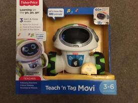 Fisher Price Teach n Tag Movi - NEW