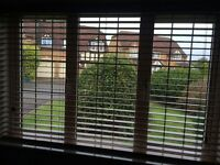oak Venetian blinds