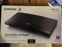 Samsung 4K Blu Ray Player - Brand New