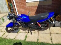 SINNIS MAX II 125CC LOW MILEAGE