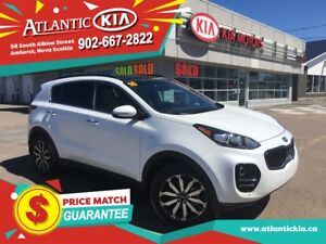 2018 Kia Sportage EX TECH FREE Home Delivery in the Maritimes!