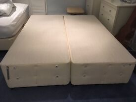 Almost new King size / 2 single bed bases for sale