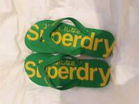 Superdry flip flops for men.