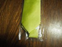 Green Italian silk tie